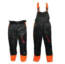 Chainsaw Safety Forestry Trousers Or Bib & Brace Ideal For Hitachi Users