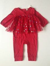 Baby Gap Double layer tulle one-piece Romper Baby Girls size 6 9 12 18 24 m NWT