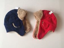 Gap Baby Kids Fleece Trapper Hat Boys size 6 12 m 12 24 m 4 5 6 7 8 10 12 yr NWT