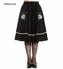 Hell Bunny Bats 50s Skirt FULL MOON Halloween Witchy Gothic All Sizes