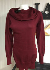 The Limited - Cranberry Cowl neck Sweater -NWT-