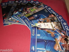2013/14 CHELSEA HOME PROGRAMMES CHOOSE FROM