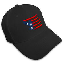 Eagle American Flag Embroidery Embroidered Adjustable Hat Baseball Cap