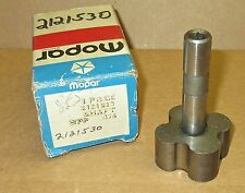 NOS Mopar 2121530 oil pump shaft & rotor 1967-1974 273, 318, 340, 360 A, B-body