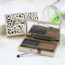 Eyebrow Powder Eye Brow Palette Cosmetic Makeup Shading Kit with Brush Mirror SP
