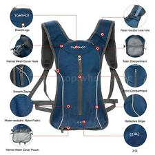 OUTDOOR CYCLING BIKE BICYCLE BACKPACK SPORT BAG TRAVEL HIKING BACKPACK D7B9