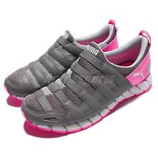 Puma OSU V4 Wns Grey Pink Women Running Shoes Slip-On Sneakers 187307-16