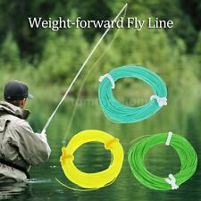WF-5F Weight Forward Floating Fly Line Fly Fishing Rigging Tapered Trout B1A8