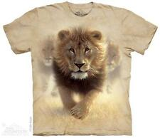 "LION ""EAT MY DUST"" ADULT T-SHIRT THE MOUNTAIN"