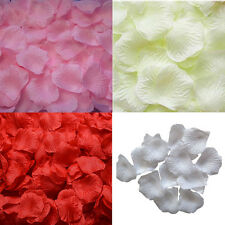 1000/2000pcs Silk Rose Artificial Petals Wedding Party Flower Favors Vase Decor