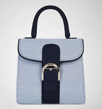 Ruby Shoo Riva Bag Blue Stripe Handbag