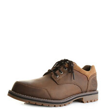 Mens Timberland Larchmont Oxford Brown Leather Oxford Shoes UK Size