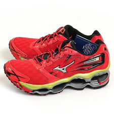 Mizuno Wave Prophecy 2 Red/Silver/Volt 8KN-31601 Sports Cushioning Running Shoes