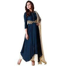 Designer Anarkali Full Length Salwar Kameez Suit Bollywood Dress India-LT-99004