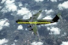 USAF C-5 Galaxy  Color Photo Military Aircraft  C 5 1983 Camouflaged Jet Plane