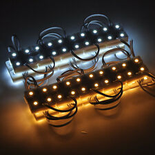 12V DC 20PCS 5050 SMD 4LED Module Light Warm / Cool White Waterproof Lamp Light