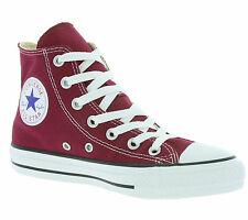 NEW Converse Chucks All Star Hi Shoes Trainers Red M9613 Leisure