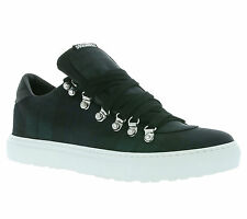 NEW DSQUARED2 Alfredo Shoes Trainers Green W16SN110 2027 7/12ft690 Sports