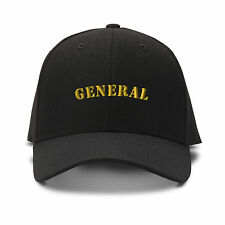 General Spanish General Army Embroidery Embroidered Adjustable Hat Cap