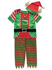 BNWT Childrens Boys Elf Fancy Dress Outfit Aged 3-4 & 5-6 years