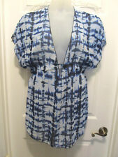 NEW Bongo Deep V Sheer Swimsuit Coverup Cover Up SIZES XL XXL 14 16 18