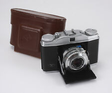 AGFA SOLINETTE II 50/3.5 SOLINAR (DUST), PINHOLES, STUCK FOCUS, AS-IS/190575