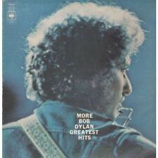 BOB DYLAN More Greatest Hits LP VINYL UK Cbs 21 Track Orange Label Design. Wear