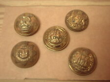 Collection of military buttons, West Kent, East surrey, North fus, Etc