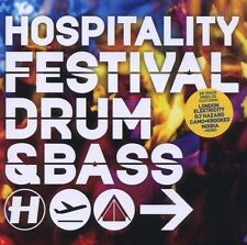 V/ A-HOSPITALITY FESTIVAL DRUM AND BASS-CD HOSPITAL NEU