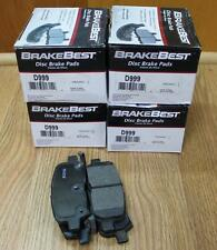 O'REILLY Disc Brake Pad-NAO Pad Rear Brakebest D999