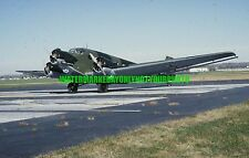 German Air Force  Junkers Ju 52 Color Photo Military Luftwaffe Aircraft Plane