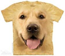 BIG FACE GOLDEN LAB CHILD T-SHIRT THE MOUNTAIN