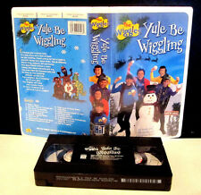 Wiggles Yule Be Wiggling VHS 2001 Clamshell 16 Songs and 48 Minutes of Christmas
