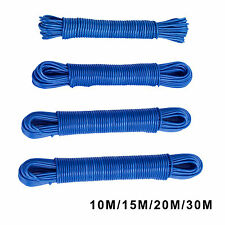 10/15/20/30m Plastic Strong Core Durable Washing Clothes Line Dryer Rope Laundry