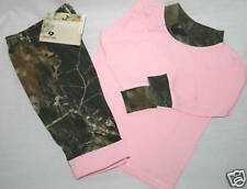 MOSSY OAK CAMO GIRLS T-SHIRT & PANTS SET - PINK & CAMOUFLAGE - KIDS BABY TODDLER