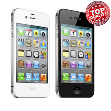 "Apple iPhone 4S 16-32GB GSM ""Factory Unlocked"" Smartphone Mobile Black White V55"