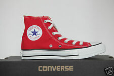 New All Star Converse Chucks Hi Trainers Shoes Red M9621 Gr.44
