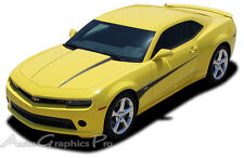 SWITCHBLADE Hood Side Spears Vinyl Decals Stripes 3M Pro Vinyl 2013 2014 Camaro