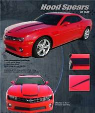 LS HOOD SPIKES Vinyl Decals Stripes * Pro Grade 3M Graphic 2010 - 2015 Camaro