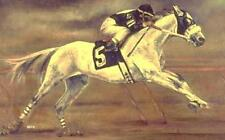 HORSE PRINT Giclee RACE Art RACEHORSE #5 artist BETS 4 COLORS print size 14 X 20