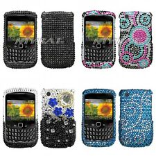 For BlackBerry Curve 8530 / 8520 Diamond Diamante Bling Rhinestone Case Cover