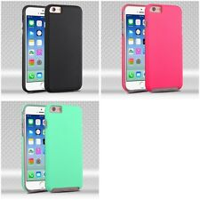 For Apple iPhone 6/6S [4.7] Hybrid 2-Piece Hard Soft Case Phone Cover Skin