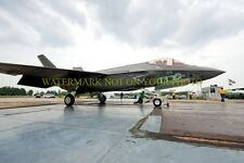 USAF F-35 Lockheed Martin Color Photo Aircraft F-35 Air Force Military