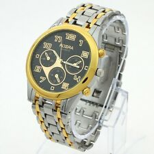 3 Color Choice Luxury Fab Gents Stainless Steel Men's Sports Wrist Watch NG35