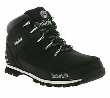 NEW Timberland Euro Sprint Hiker Boots Men's Real Leather Winter Boot Black