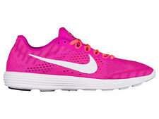 NEW MENS NIKE LUNARRACER 4 RUNNING SHOES TRAINERS FIRE PINK / WHITE / BRIGHT MAN