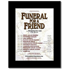 FUNERAL FOR A FRIEND - UK Tour 2007 Mini Poster