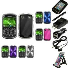 For BlackBerry Bold Touch 9900 9330 Aluminum Armor Slim Hard Case Accessories