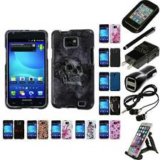 For Samsung Galaxy S2 i9100 Design Snap-On Hard Case Phone Cover Accessories