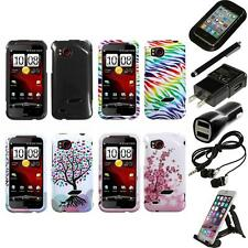 For HTC Rezound Design Snap-On Hard Case Phone Cover Accessories